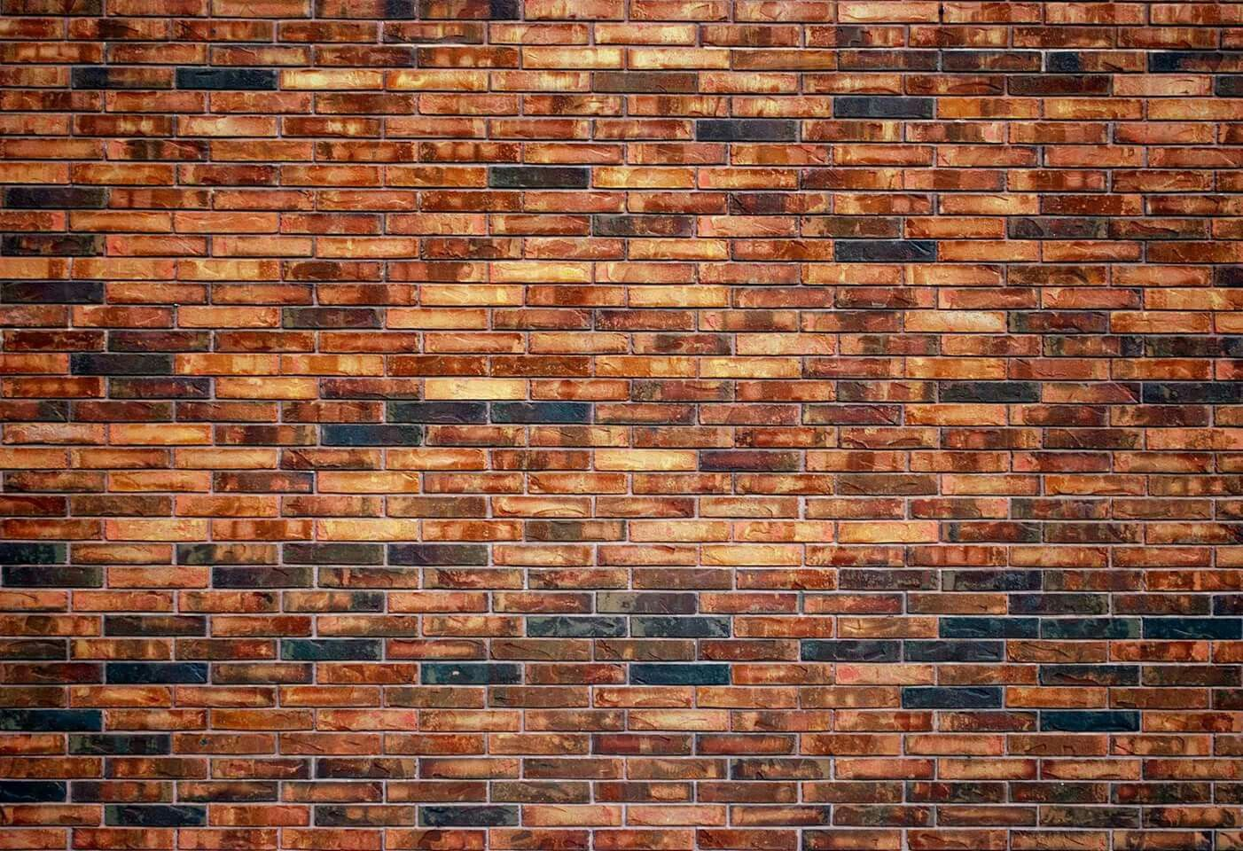 Unfinished brick wall texture for creating environment texture maps - Brick Wall Mapping Textures