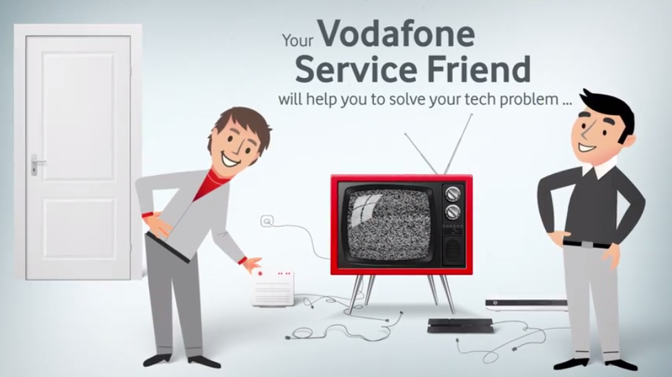 Touch This Image Vodafone Customer Service By Emma Watson Customer Service Vodafone Service