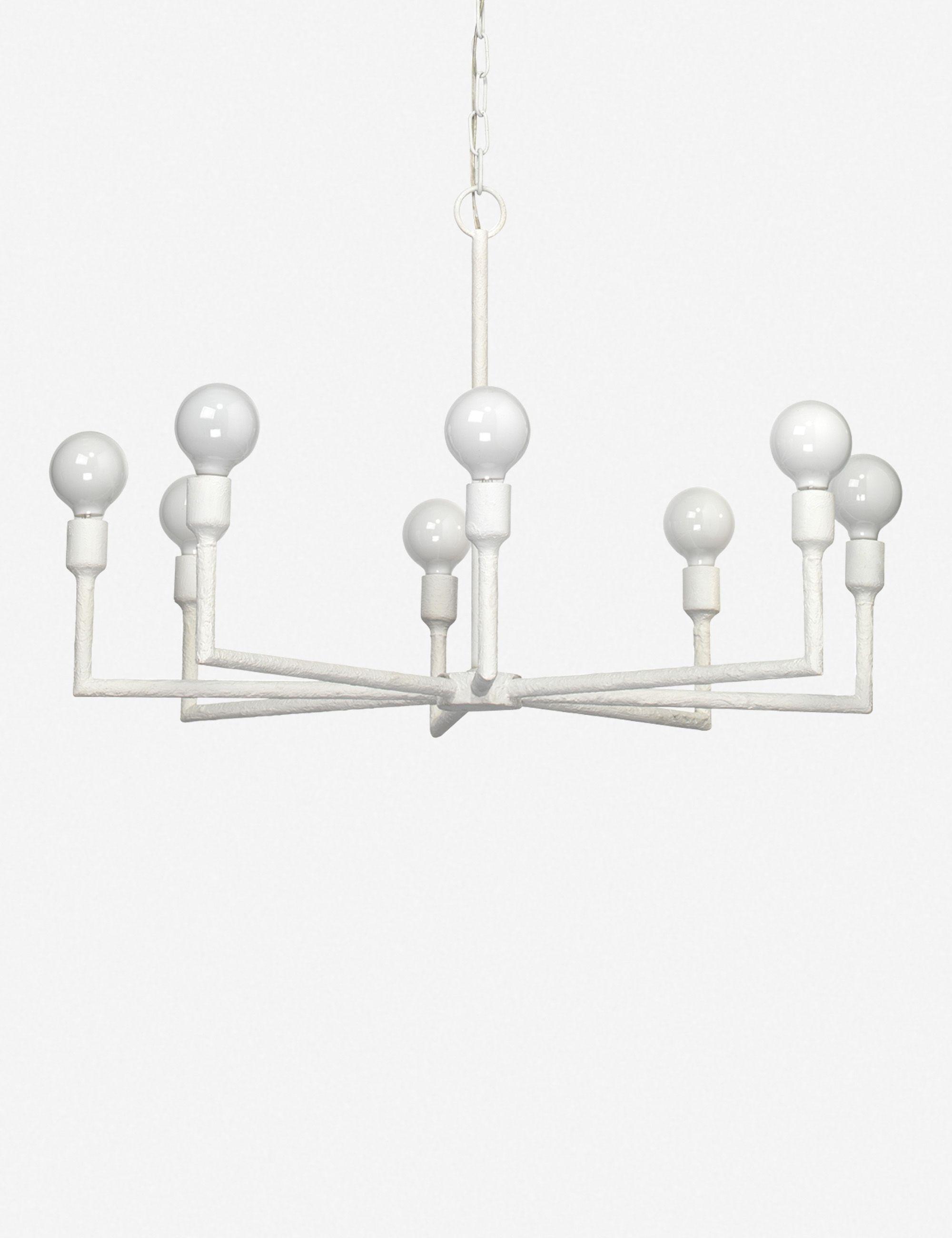 Callyn Chandelier In 2020 Chandelier Modern White Chandeliers Ceiling Lights