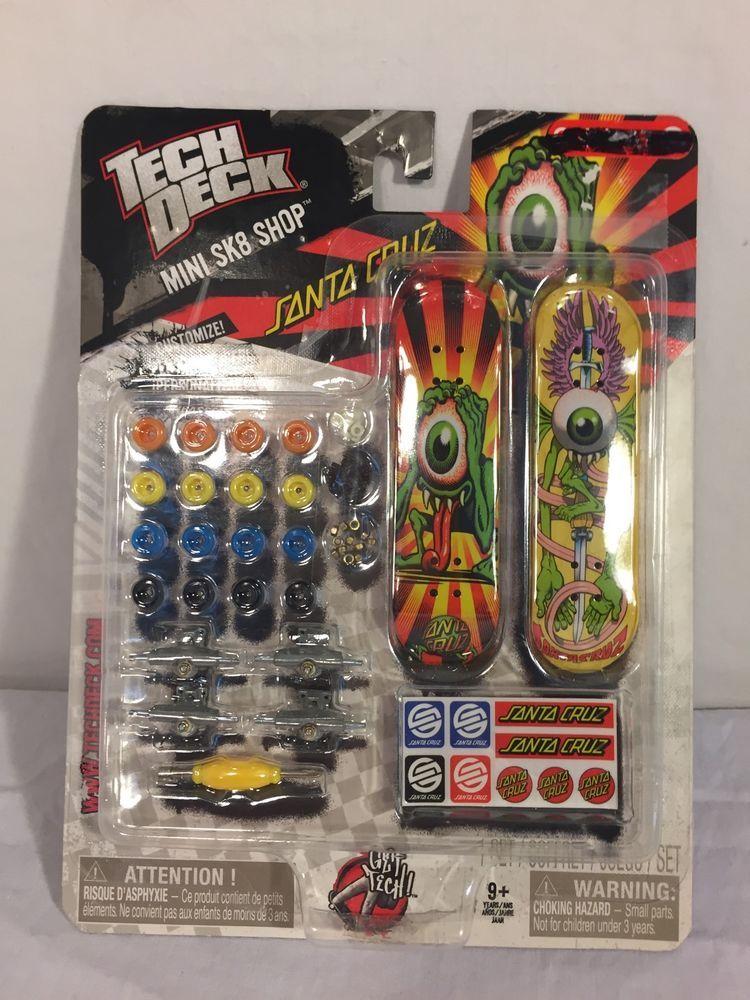 Tech Deck Mini SK8 Shop Santa Cruz Skateboard Fingerboard