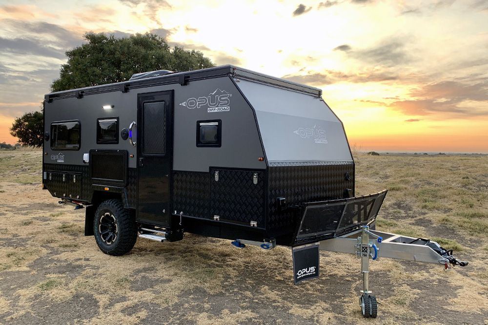This 15' Expandable Off-Road Camper Trailer Is Loaded With Luxury