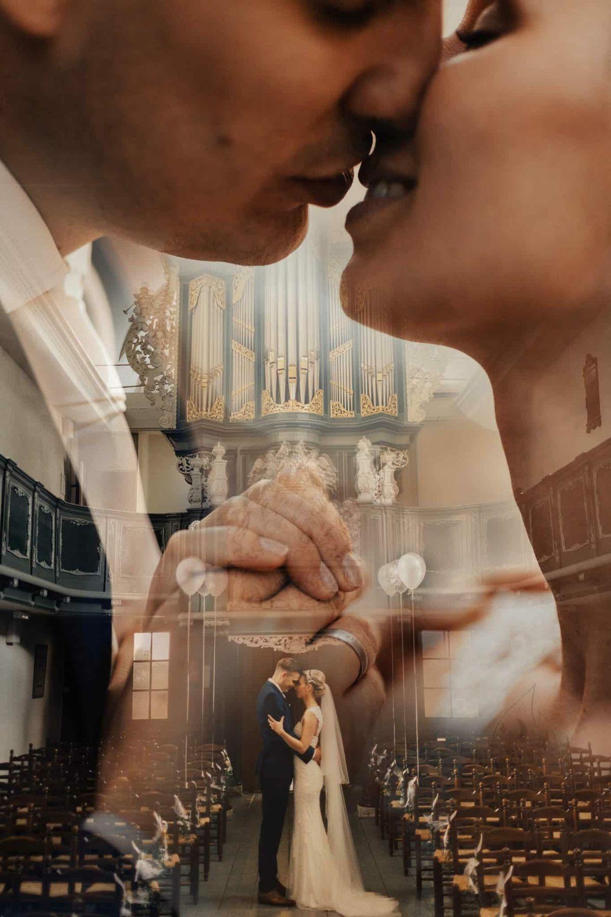 Originelle Hochzeitsfotos mit Doppelbelichtung als die perfekte Erinnerung!
