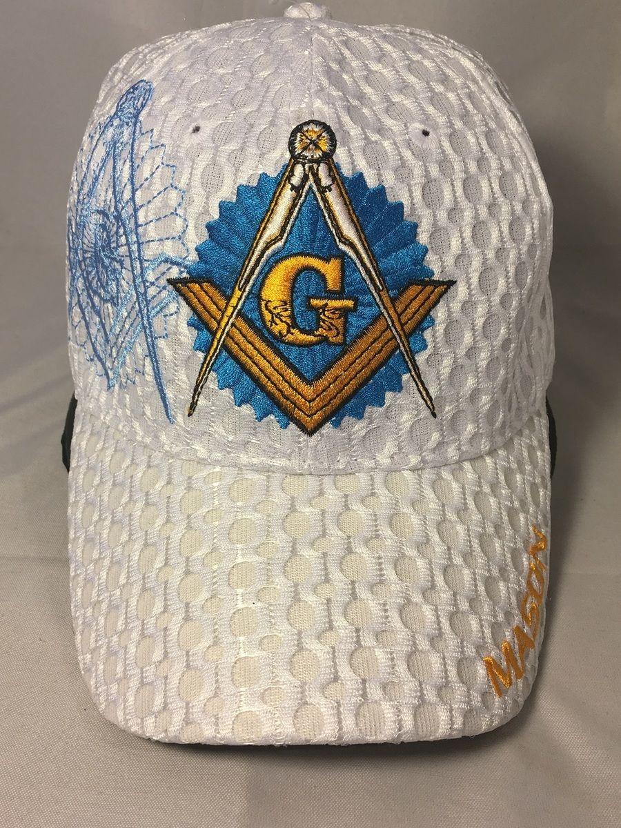 Mason Masonic Hat White Brothers And Sisters Greek Store Masonic Hats Masonic White Brothers