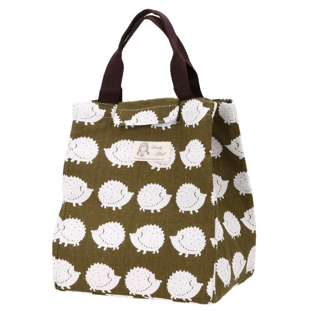 Cute Hedgehog Insulated Lunch Bag Only $3 28! | Deals on