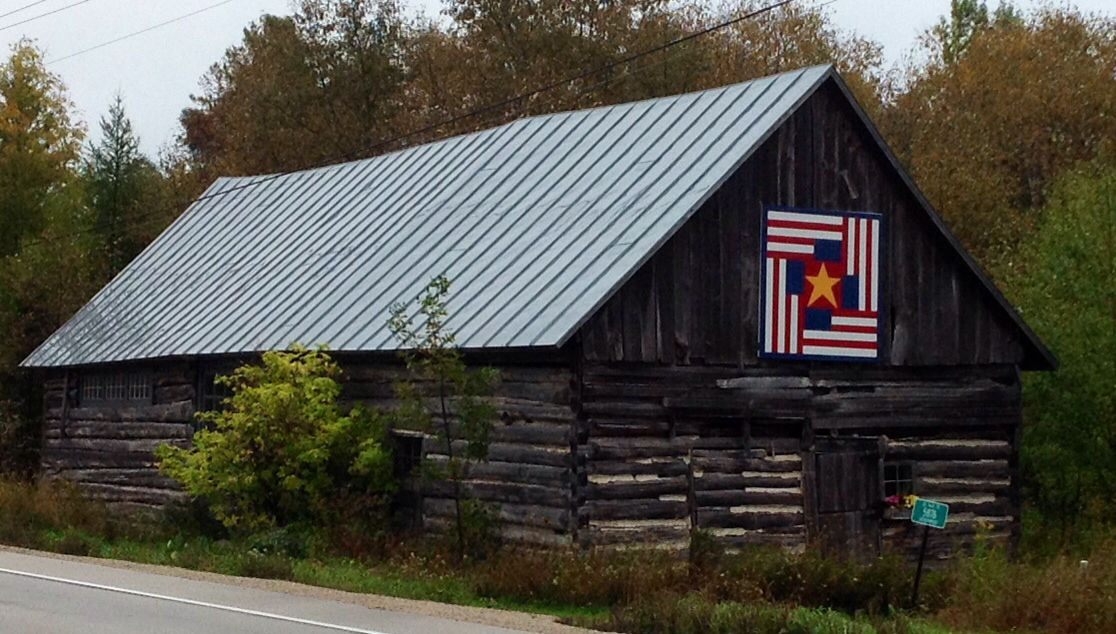 Four Flags Door County Wi Barn Quilt Patterns Barn Quilt Designs Painted Barn Quilts