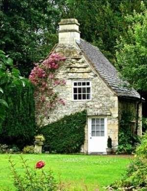 Stone Cottage Design Captivating And Enchanting With Images Stone Cottages Stone Cottage Cottage Design