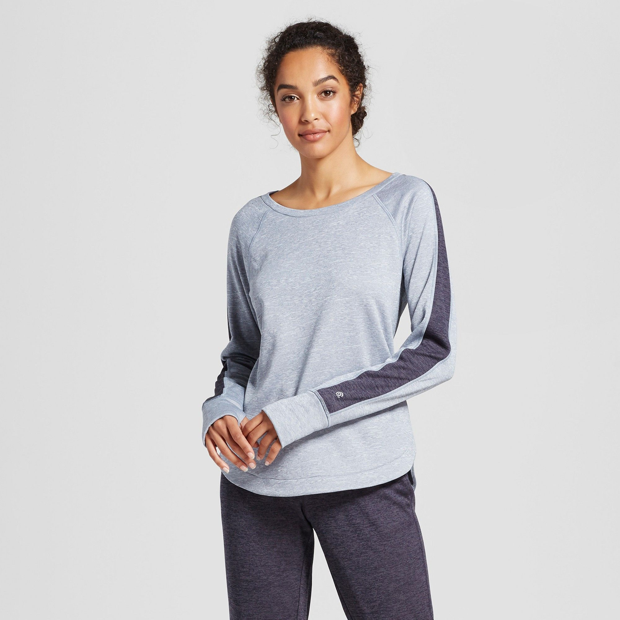 Women's Colorblock Tech Fleece Crew C9 Champion Light