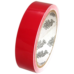 Tape Planet 3 Mil 1 X 10 Yard Roll Red Outdoor Vinyl Tape Adhesive Vinyl Sheets Adhesive Vinyl Paper Vinyl Printer Paper