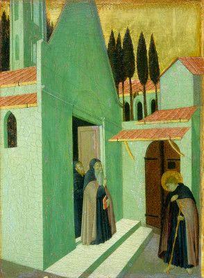 Saint Anthony Leaving His Monastery Medieval Art Renaissance Art Art