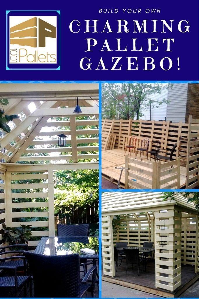 The making of a Pellet Gazebo! - Beautiful Diy Ideas in ...