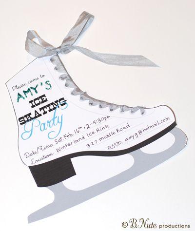 Skating Party Invitations Free Printables – Free Printable Roller Skating Party Invitations