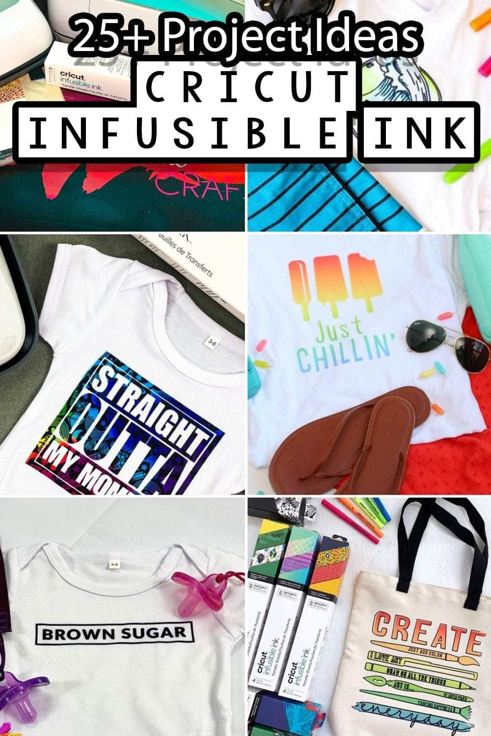 25+ Cricut Infusible Ink Project Ideas Cricut, Projects, Ink