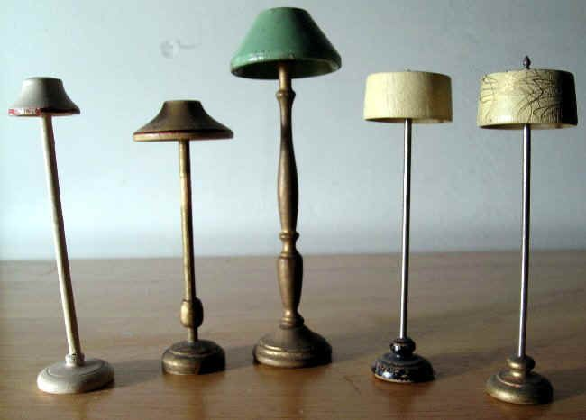 dollhouse lighting. 1940s Dollhouse Furniture | The Wooden Market In North\u2026 Lighting I