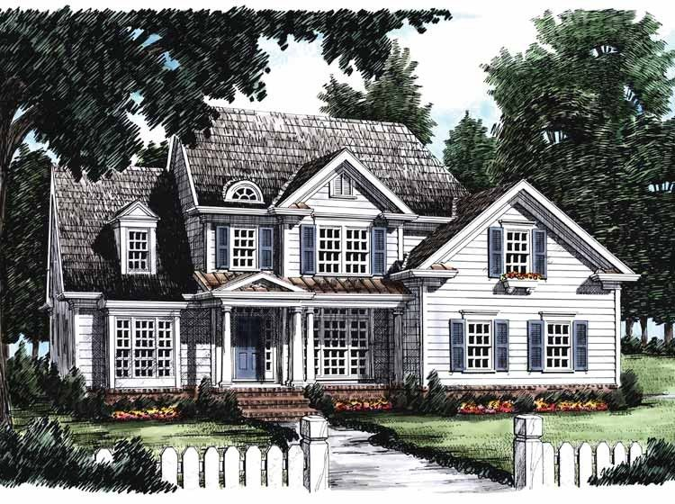 country house plan with 2262 square feet and 3 bedrooms from dream rh pinterest com