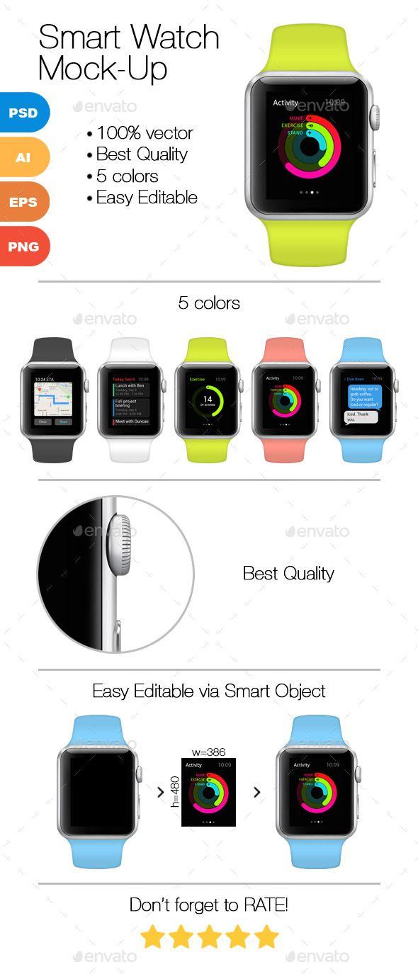 Smart Watch Mock-Up