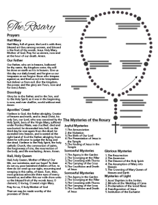 Printable Rosary For Kids Screenshot Rosary Rosary Prayers Catholic Rosary Prayer Guide