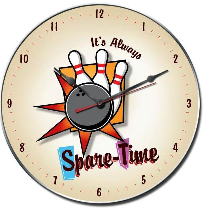 SPARE TIME CLOCK 14 x 14 Inches, $35.98 (http://www.jackandfriends.com/spare-time-clock-14-x-14-inches/)