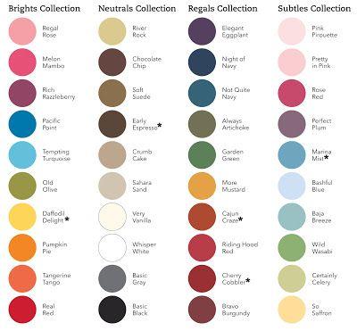 Drucken in Stampin Up-Farben | Farben | Pinterest | Drucken, Stampin ...