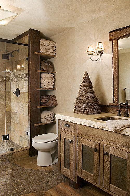 15 beautiful bathroom ideas guest bath rustic bathroom decor rh pinterest com
