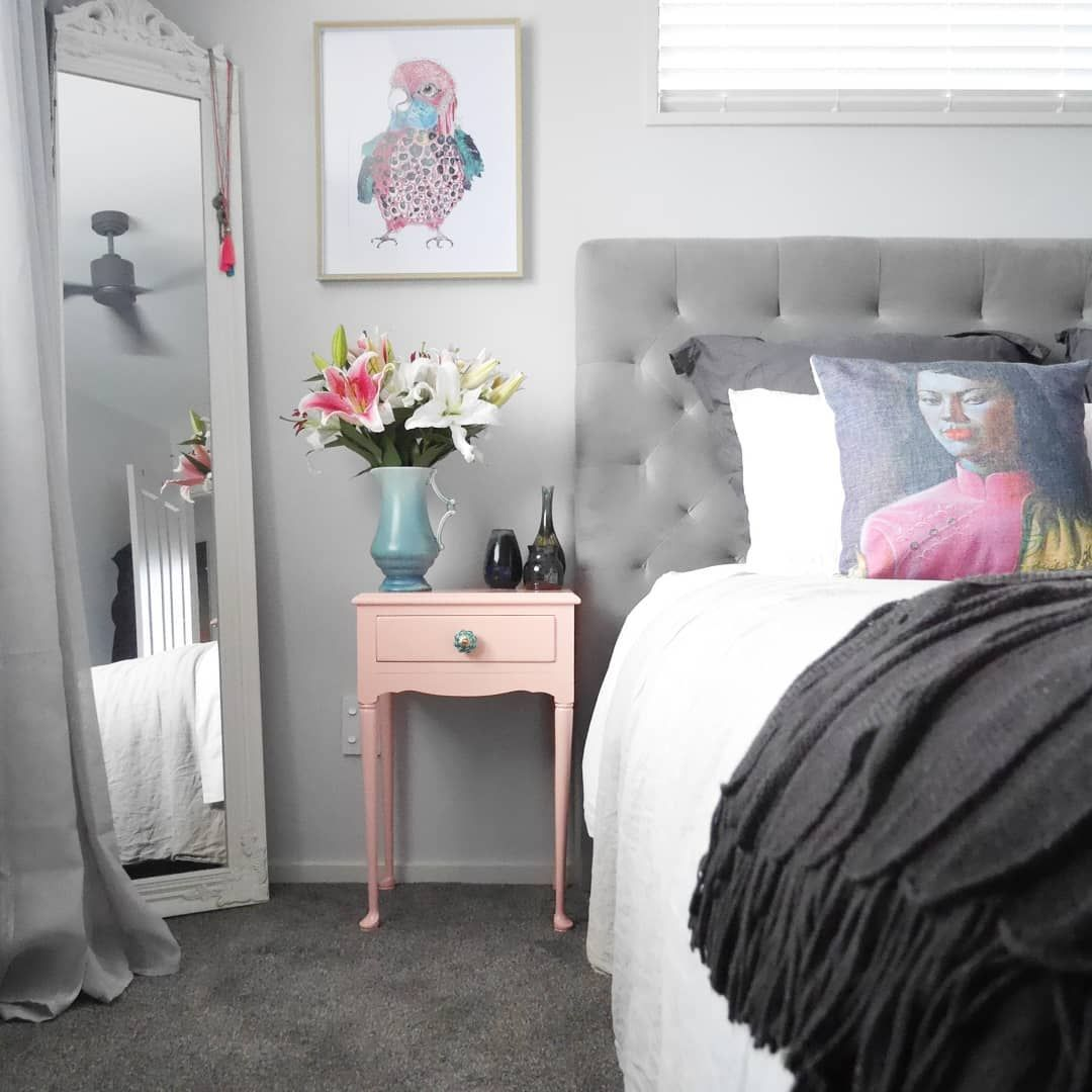 Diy upcycled side table bedroom decor bedroom inspo