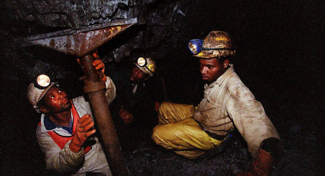 Illegal South African Miners Hiding Underground Face Hunger  -  The KOL Social  - IG: @thekolsocial
