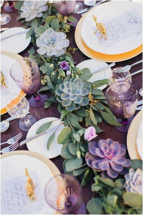 105 creative succulent wedding decor ideas table scapes rh pinterest com