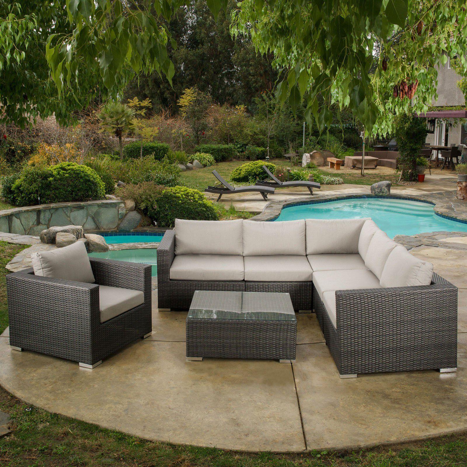 best selling home decor furniture alexa wicker 7 piece patio rh pinterest ca