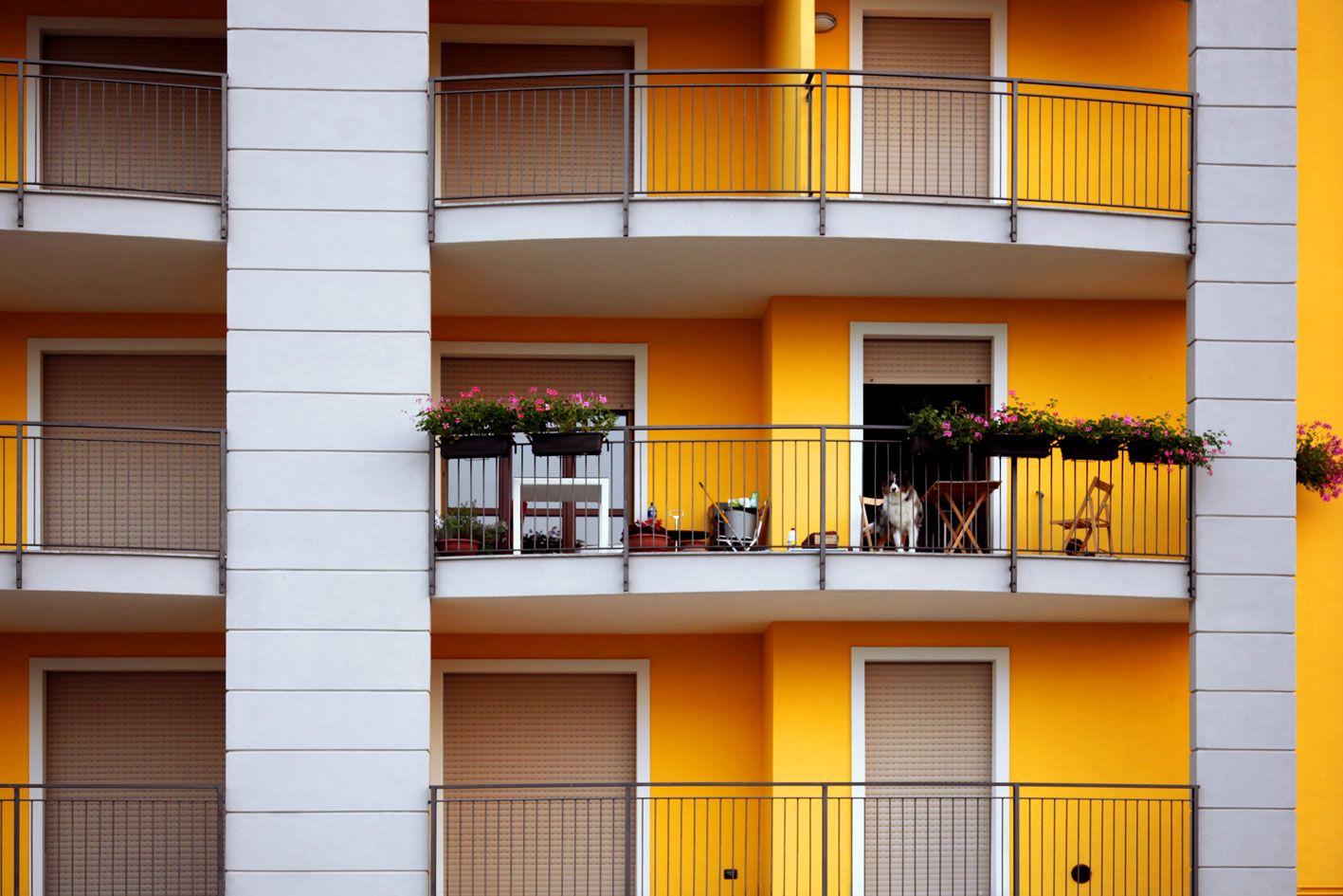 esterno palazzina #alessandria