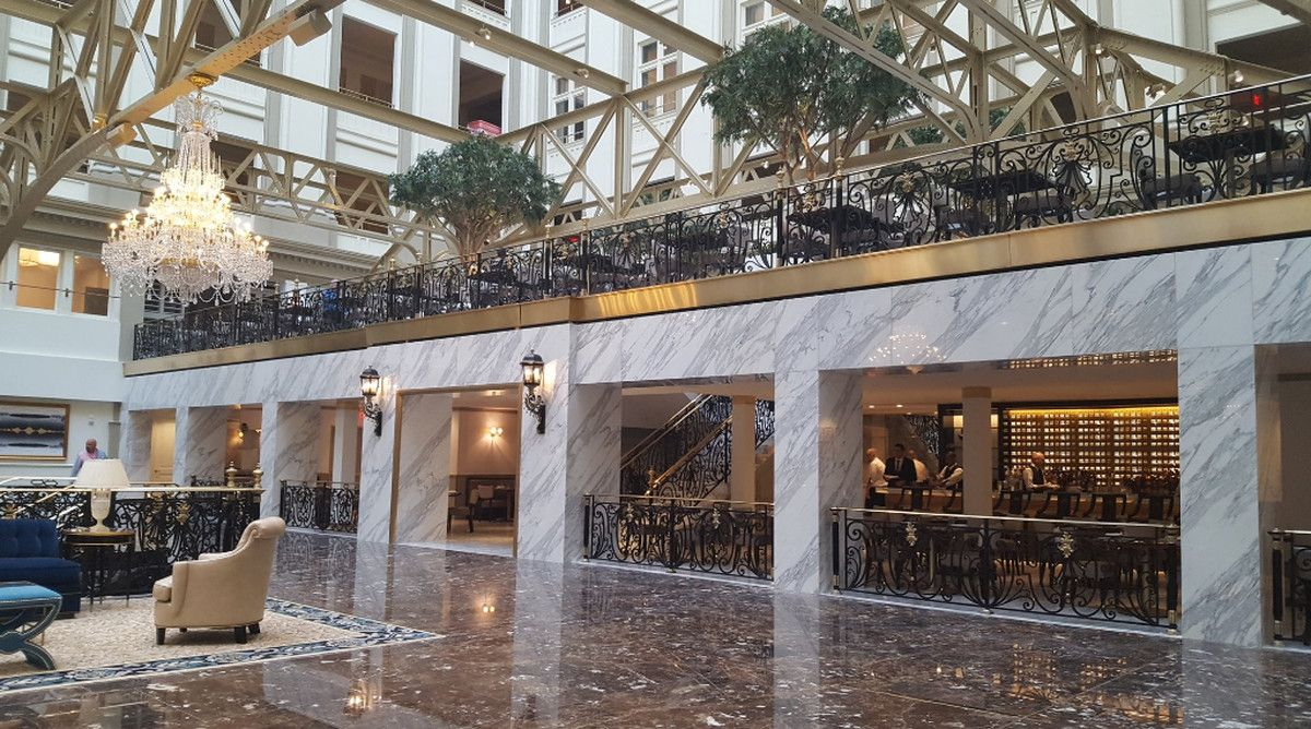 inside d c s trump hotel cdc set inspo washington dc hotels rh pinterest com