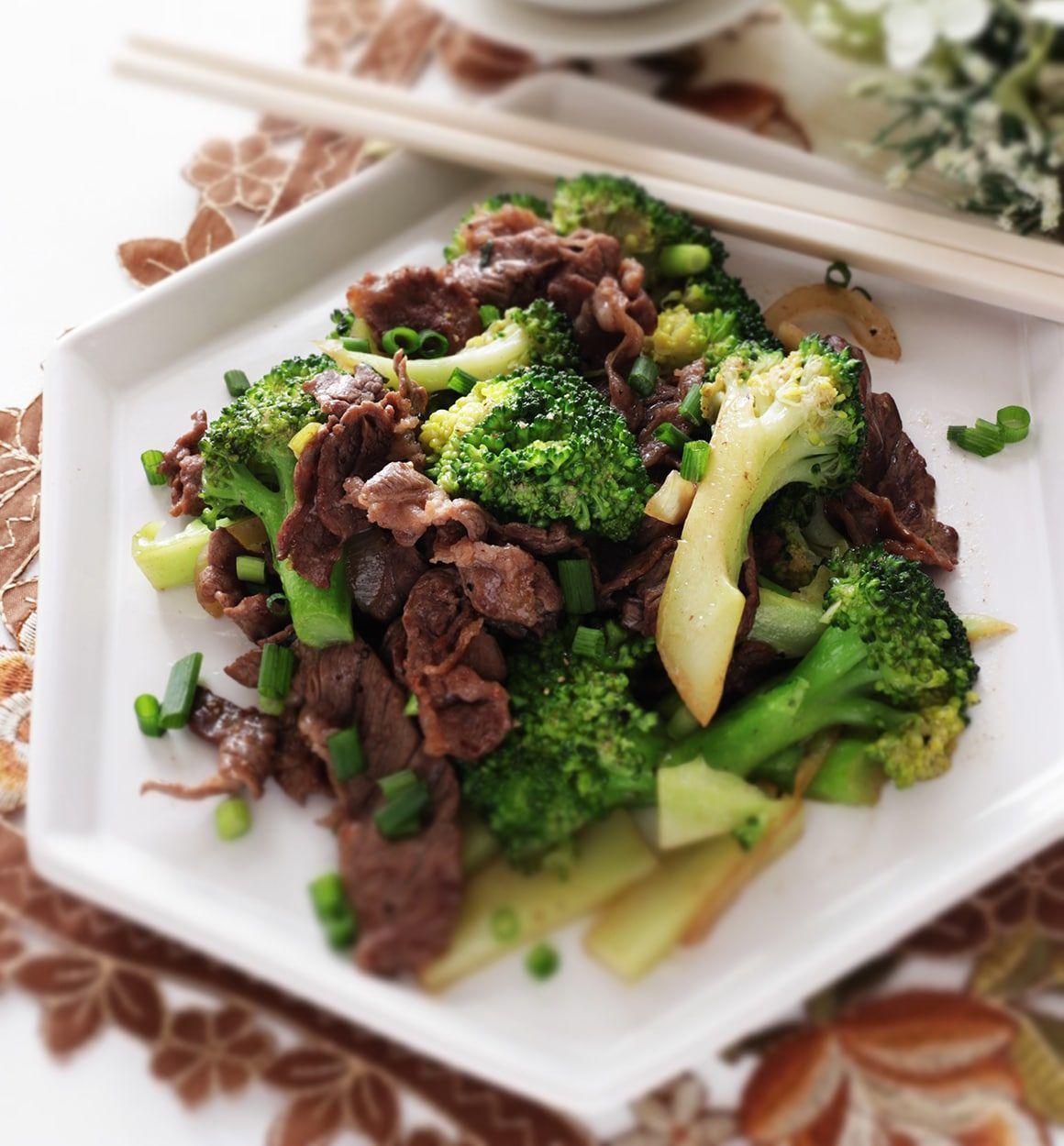 Beef Broccoli Recipe Ninja Ninja Foodi 6 5 Qt The Pressure Cooker That Crisps Op300 Broccoli Beef Broccoli Recipes Venison Recipes