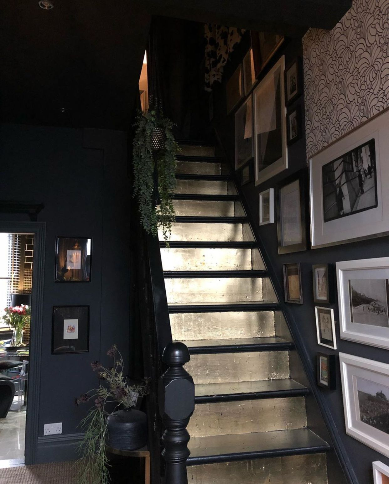 A Story Of Home Blog : How To Make An Entrance. Dark