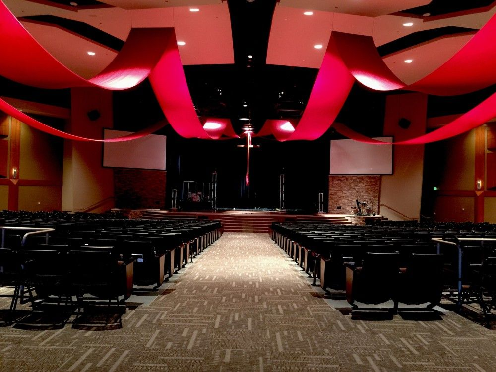 Canopy from Mission Hills in Littleton, Colorado | Church Stage ...