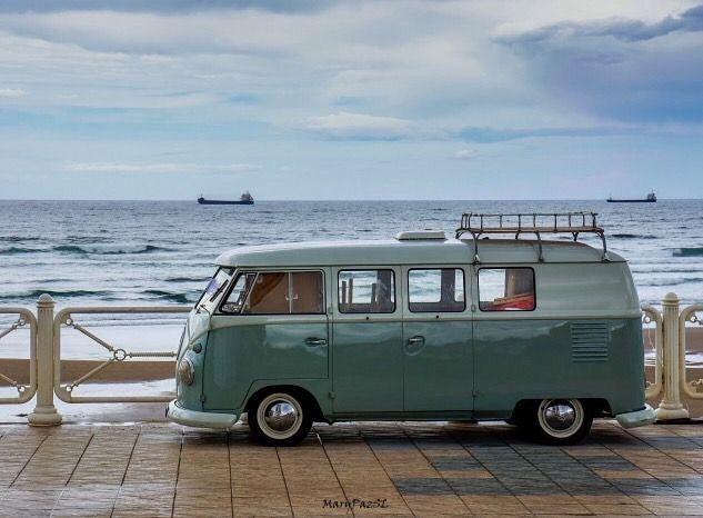 #vw #vwcamper #vwbus #kombi #vwvan #hippievan #volkswagen #babe #beach #girl #surf #model #retro #type2 #vwbabe #vintage #campervan #camper #hippyvan #earlybay #splitscreen #camping #vwgirl by vwcamper