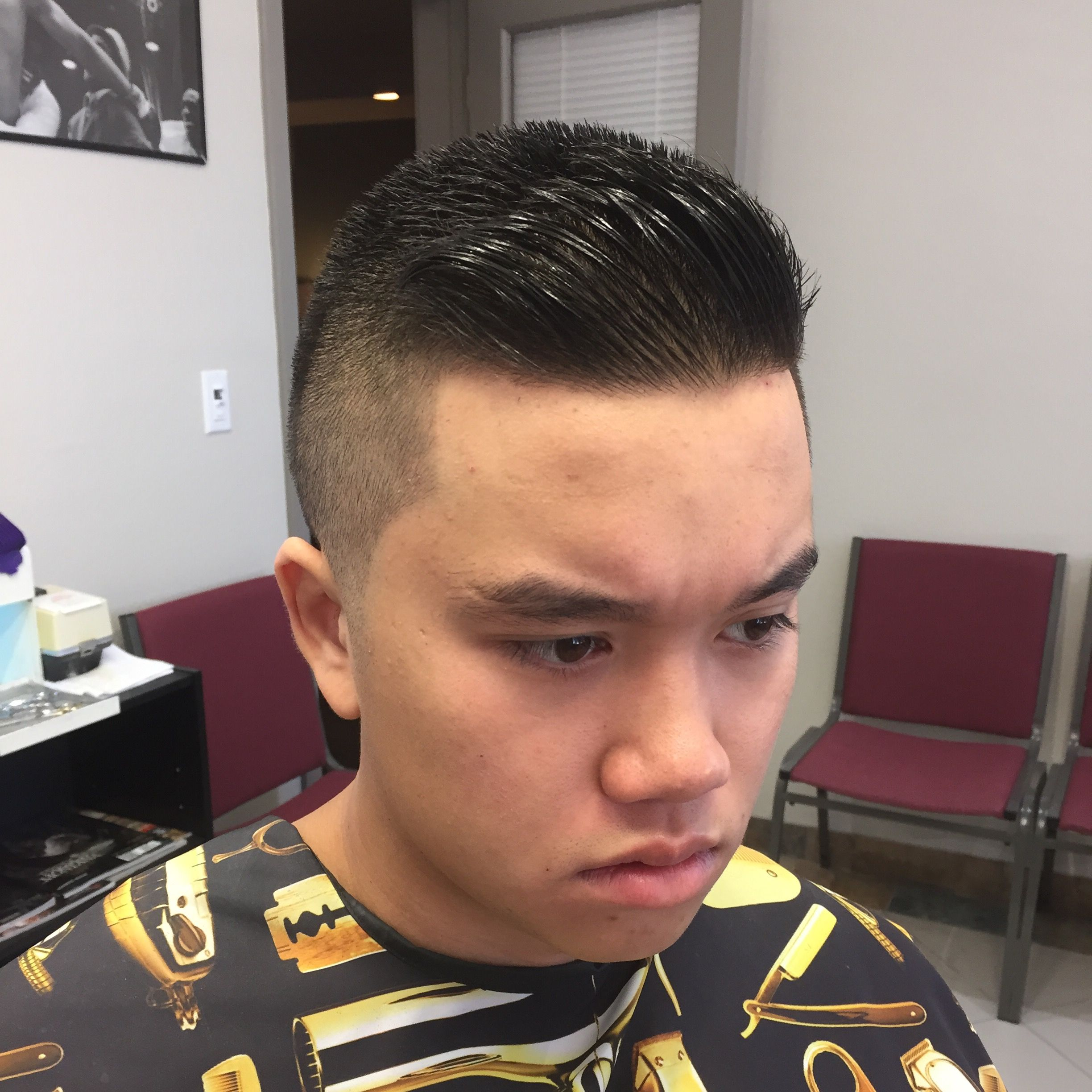 Pin On Haircut Style I Am A Barber Barber Hair Fade