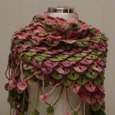 CROCODILE STICH   crochet it   Pinterest   Crocodile stitch ...