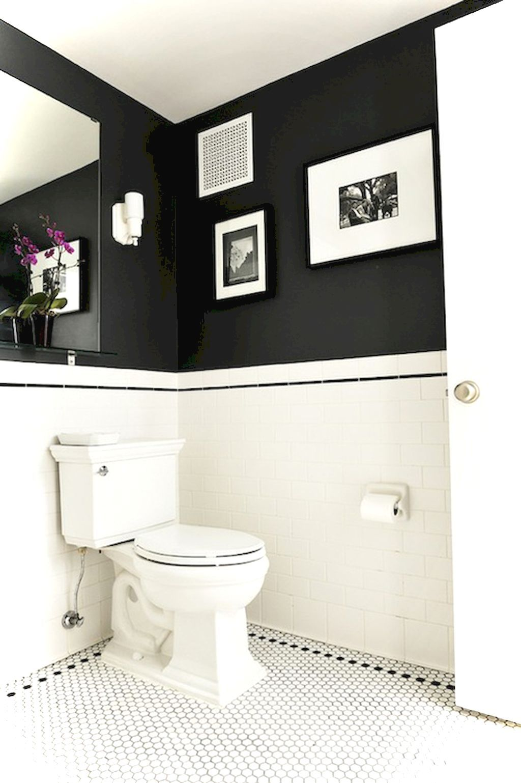 99 luxury black and white bathroom ideas home sweet home white rh pinterest com