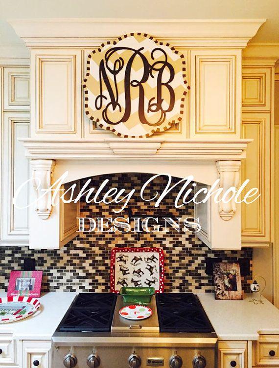 monogram plaque monogram door hanger door decoration signs door rh pinterest com