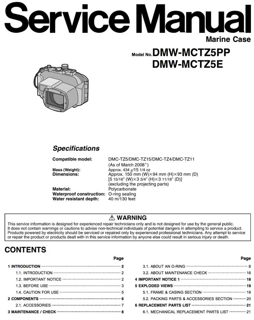 dmc tz5 service manual user guide manual that easy to read u2022 rh sibere co Owner's Manual Owner's Manual