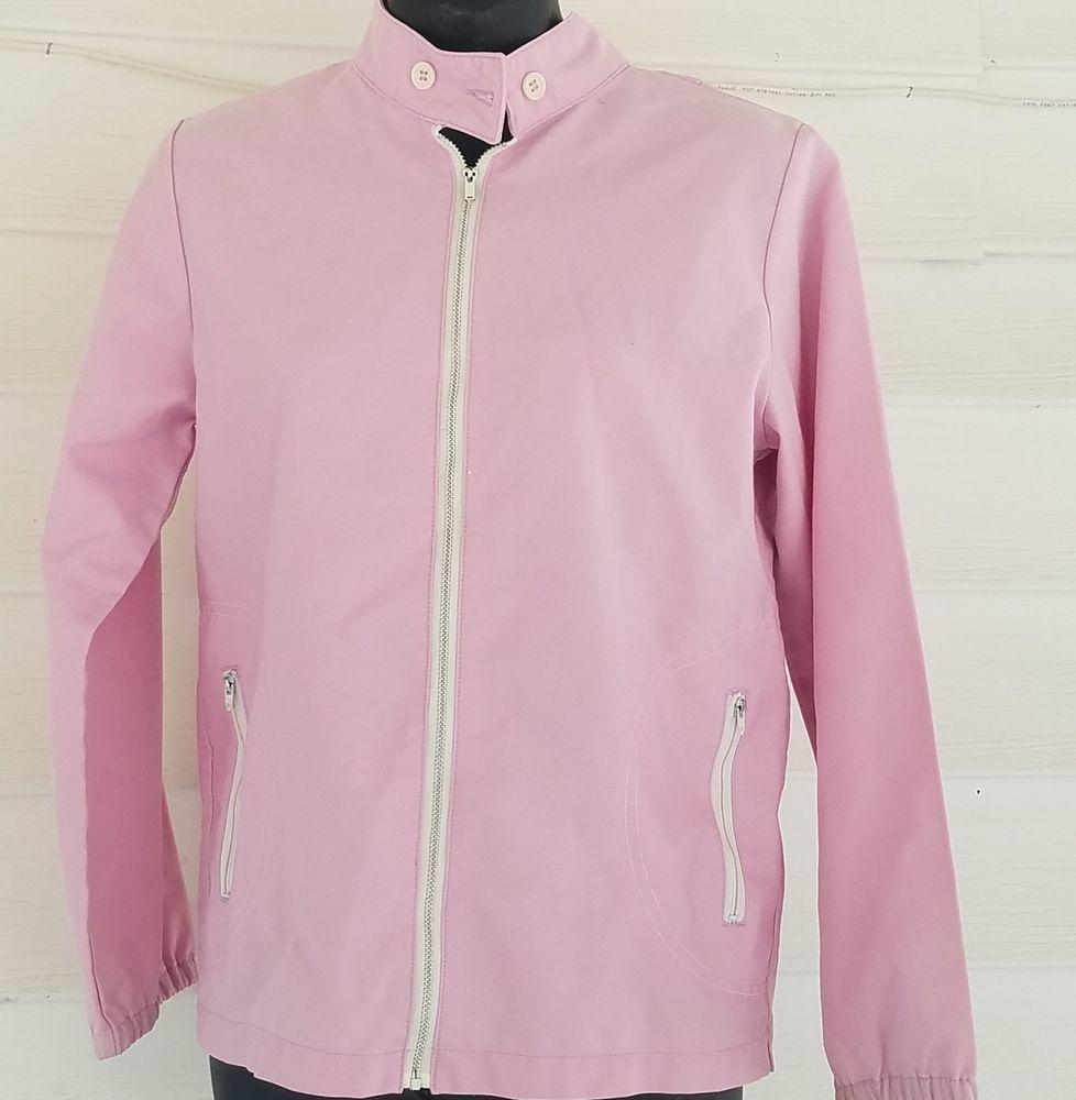 Koret Of California Koratron Vtg Zip Front Jacket Pink Mauve Purple Sz Med Retro Clothes Clothes For Women Jackets [ 1000 x 978 Pixel ]