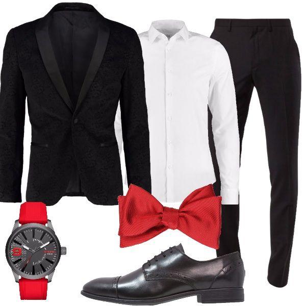 new concept ab85c 77f25 Outfit+per+un+uomo+eccentrico.+Giacca+lavorata+con+collo+a+ ...