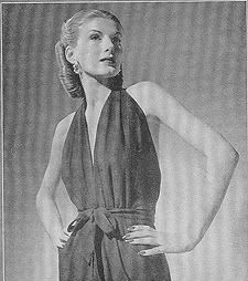 """Claire McCardell, From Life Magazine """"American Designers"""" 1944"""