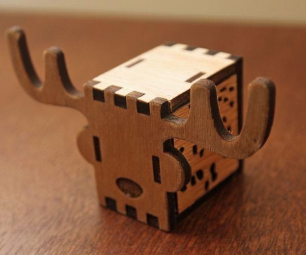 Kokomu wooden music box animal music box diy deer this is a do it kokomu wooden music box animal music box diy deer this is a do solutioingenieria Choice Image