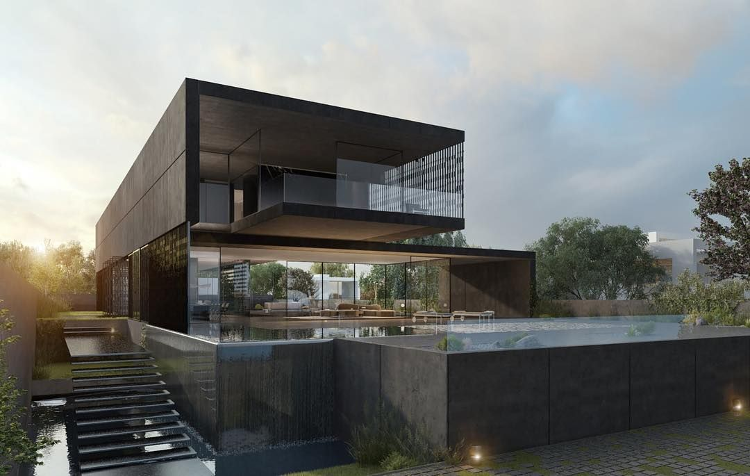 Black architecture for the modern human Powered