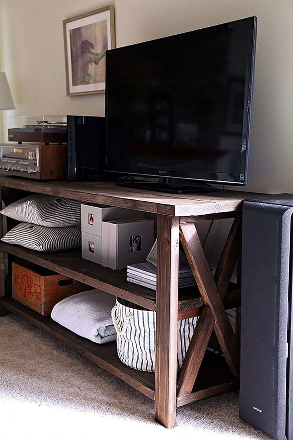 Gorgeous 30 Modern Farmhouse TV Stand Ideas