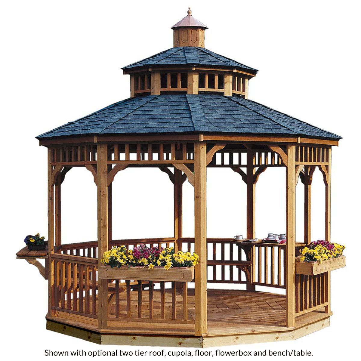 brighton round gazebos in 2019 cool wooden gazebo round gazebo rh pinterest com