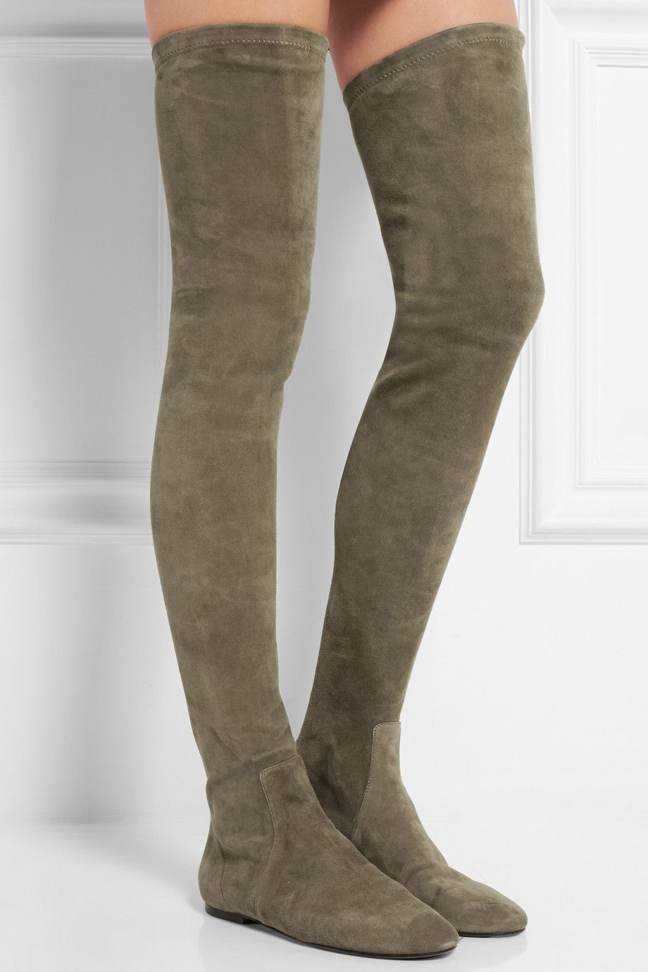 quality free shipping outlet fake sale online Isabel Marant Suede Over-The-Knee Boots free shipping deals wpIShvJ