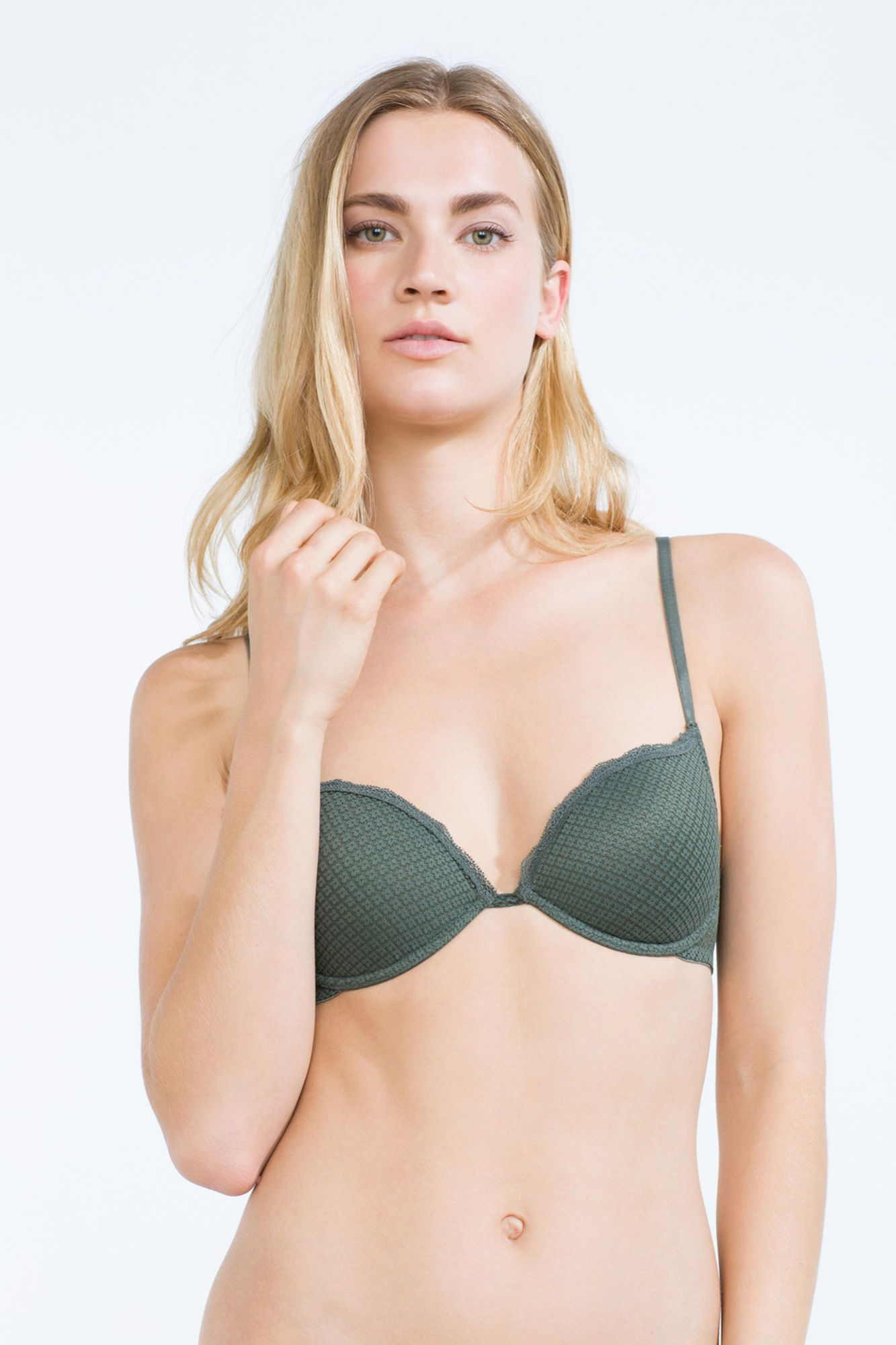 Miniflower classic padded bra | Bras | Women'secret