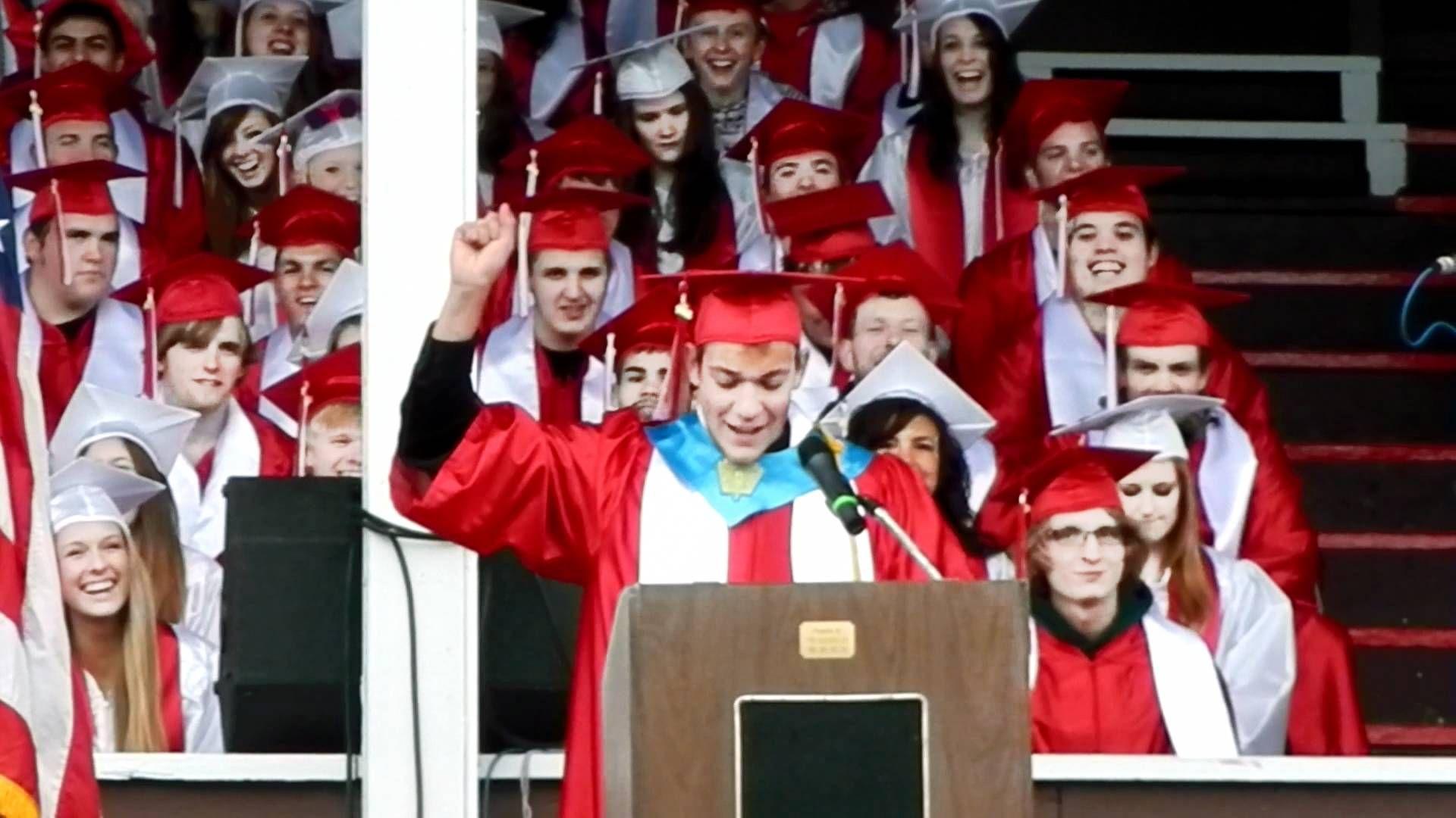 Dwight Schrute Inspired Valedictorian Speech YouTube