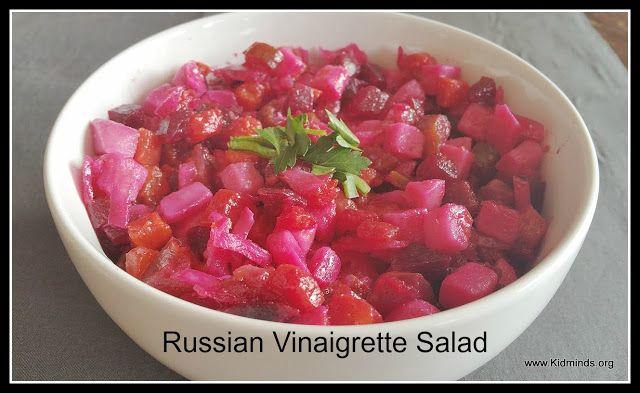 Kid Minds: Russian Vinaigrette Salad