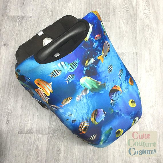 Universal Car Seat Cover Car Seat Hood Fish Replacement Sun Cover Sun Canopy Car Seat Sunshade New Baby Gift Newborn Baby Capsule & Universal Car Seat Cover Car Seat Hood Fish Replacement Sun ...